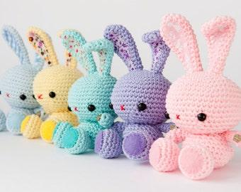 Amigurumi Spring Bunny