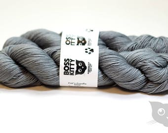 Packy - Hand Dyed/Superwash Merino/Cat's Cradle Solid
