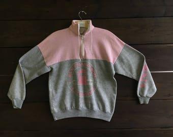 Vintage 80's San Francisco Half Zip Sweatshirt