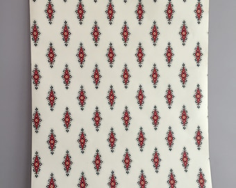 vintage Laura Ashley wall paper Viceroy turk