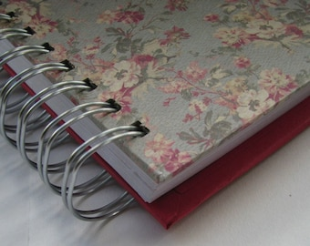 Weekly Organizer - Pocket Size - Agenda - Planner - Organizer Planner - Weekly Agenda - Unique Planners - Organizer - Wirebound - Floral
