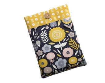 iPad Mini Case, iPad Mini 4 Sleeve, Floral iPad Mini Cover, iPad Mini Pouch, iPad Mini 4 Cover, Scandi Style iPad Mini Case with Flowers