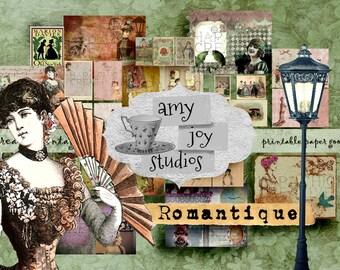 Vintage  *Revised*  Victorian  Printable Journal Pages  printable junk journal  digital scrapbook  printable journal  DIY journal