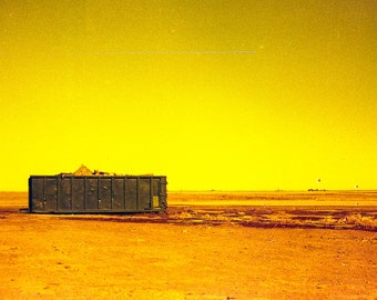 Wasteland by Eric Flavin Home Decor Wall Decor Giclee Art Print Poster A4 A3 A2 Large Print FLAT RATE SHIPPING
