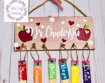 Personalized Teacher Hall Passes
