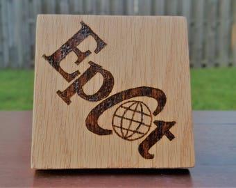 Epcot Logo Coaster
