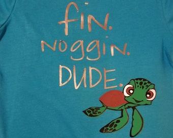 Fin Noggin Dude