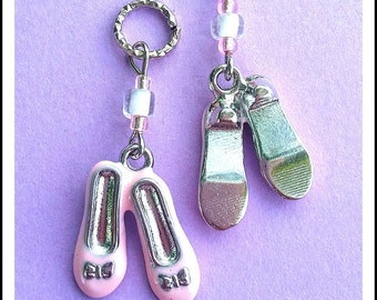 Hearing Aid Charms:  Charming Ballet Slippers!