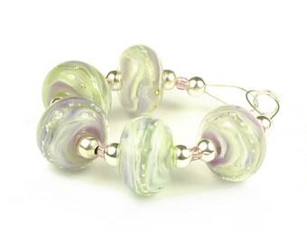 Emeline  - Handmade Lampwork Glass Beads