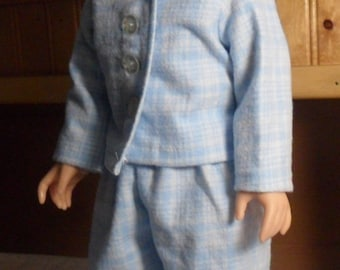 18 Inch Doll Pajamas Robe and Slippers
