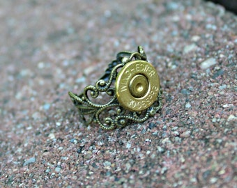 Annie Get Your Gun Spent Gun Bullet Shell Adjustable Ring