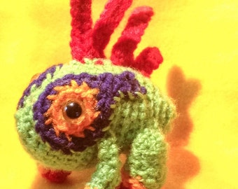 baby MURLOC world of warcraft Amigurumi crochet