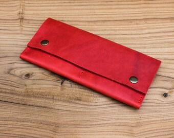 Leather wallet Wallet for women Minimalist wallet Womens wallet Womens gift Clutch wallet Small wallet Long wallet Leather clutch