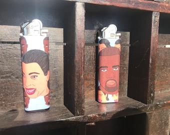 Kim and Kanye Lighters