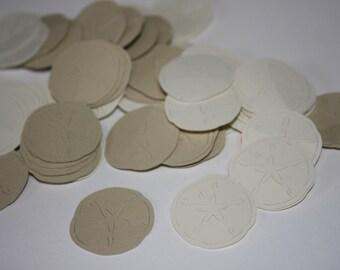 Sand dollar Die Cut Confetti Table Decor 200 pieces