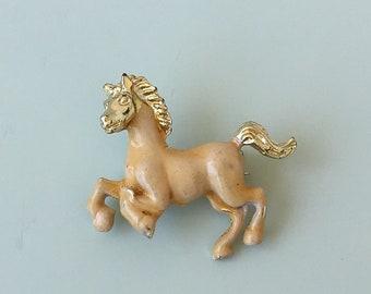 Vintage Petit Horse animal Brooch