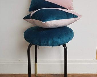 Geo Velvet Mini Cushion