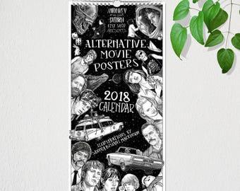 Alternative Movie Poster 2018 Calendar
