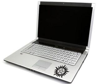 Supernatural Logo Inspired Decal, Supernatural Anti Possession Sign Sticker, Laptop Sticker, MacBook Decal, Tablet Sticker, Gift for SPN Fan