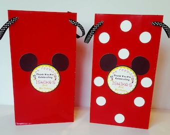 Mickey Mouse and Minnie Goody Bags