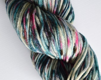 Hand Dyed Yarn | Worsted Weight Wool