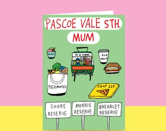Mother's Day Card - Pascoe Vale South Mum