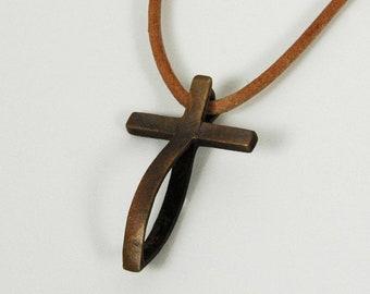 FishCross pendant, The original FishingCross