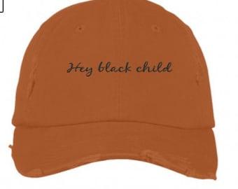 Hey Black Child caps