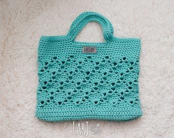 Vintage Market Tote (Cotton/Nylon Bag)