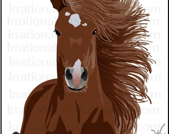 Horses saddles and helmet 4 awesome horses INSTANT DOWNLOAD horse