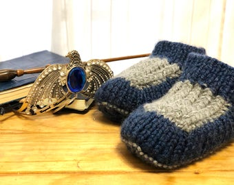 Ravenclaw Wool Slippers/Booties Ravenclaw