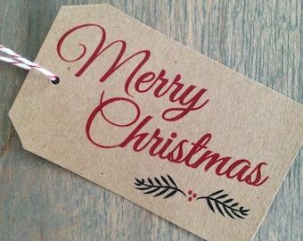Gift Tags / Christmas Tags / Holiday Tags / Christmas Gift Tags / Merry Christmas Tag