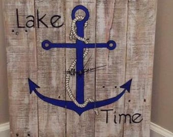Lake Time Clock