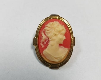 CLEARANCE CLOSEOUT Vintage Cameo pin.