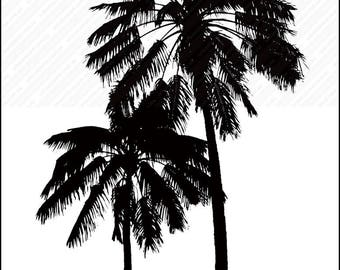 Palm Trees, Palm Tree art, Palm Tree wall art, Palm Tree Print