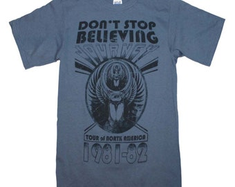 Journey Don't Stop Believing 1981-1982 North America Tour T-Shirt