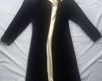 1920's-1930's hooded opera coat