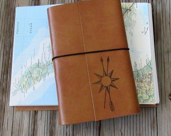 Echte Norden Reisetagebuch mit Karten, größere Reisetagebuch von tremundo