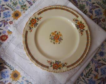 Set of 5 Vintage Grindley England Desert Plates The Kinross Pattern 40s