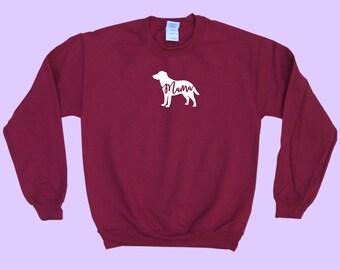 "Labrador ""MAMA"" - Dog Mama Crewneck Sweatshirt"