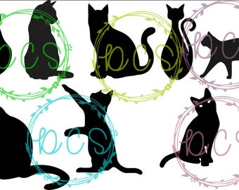Cats SVG- Commercial License Included