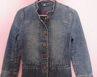 Women denim jeans jacket