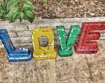 Oil drum LOVE Letters Set