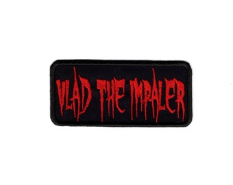 Vlad the Impaler Patch Dracula Vampire Iron or Sew on Patch