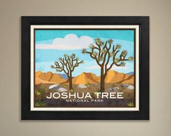 Joshua Tree National Park Framed Print