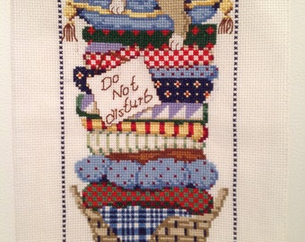 Cross Stitch Finished, Do Not Disturb, Bedrooms