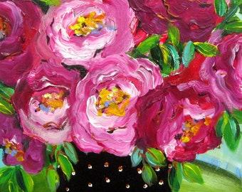 Original painting 11 x 14 Canvas art Fine art by Elaine Cory