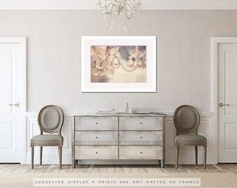 chandelier photo, chandelier crystals photo, chandelier art, baby girl nursery decor, fine art photograph, nursery wall art bedroom wall art
