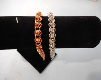 7 inch Single Barrel Weave Bracelet