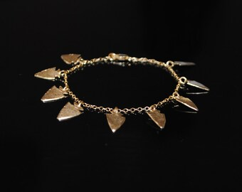 The Warrior Bracelet (gold vermeil)